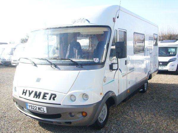 HYMER B644 LEFT HAND DRIVE